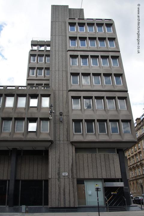 Two Storey Building Elevation : Architectureglasgow