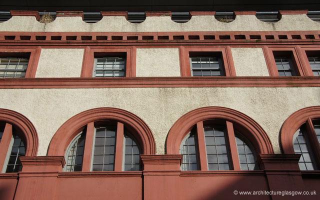 Front Elevation Of College Building : Architectureglasgow